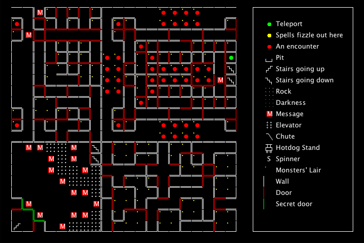 Wizardry III Maps